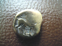 GOLD STATER GALLIEN AEDUI  BIBRACTE AREA OF THE MONT BEUVRAY