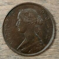 1890 NEWFOUNDLAND LARGE CENT