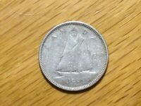 1950 CANADA 10 CENT  SILVER COIN  CANADIAN