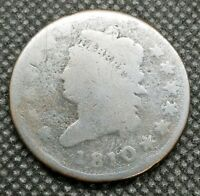 1810 CLASSIC HEAD LARGE CENT | ABOUT GOOD | , EARLY COPPER CENT