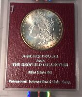 1889-S NGC MINT STATE 63 PQ REDFIELD COLLECTION MORGAN SILVER DOLLAR
