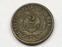 1864 TWO CENT COIN LARGE MOTTO 5