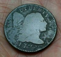 1795 LIBERTY CAP LARGE CENT, LETTERED EDGE    GREAT PRICE