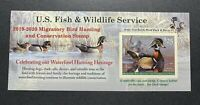 WTDSTAMPS   RW86A 2019   2020   US FEDERAL DUCK STAMP   POST OFFICE FRESH