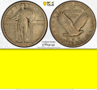 1918/7-S PCGS VF25   EYE APPEAL  $5,224  KEY STANDING LIBERTY QUARTER 25C