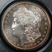 USA 1881 S PCGS MS64PL MORGAN DOLLAR OLD GREEN HOLDER  OGH    SILVER WORLD COIN