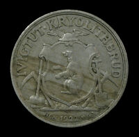 1922 GREENLAND IVIGTUT CRYOLITE MINING & TRADING COMPANY 50 ORE    WORLD COI