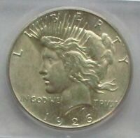 1926-P  PEACE DOLLAR MINT STATE 64 BRILLIANT