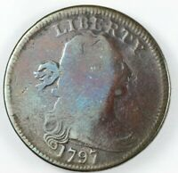 1797 DRAPED BUST LARGE CENT 1C