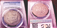 1889CC MORGAN SILVER DOLLAR- PCGS CERTIFIED G-06AFFORDABLE AND PROBLEM-FREE