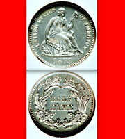 1870 NGC PR64  WHITE  NON-DOCTORED  $860 AMAZING PROOF SEATED HALF DIME H10C
