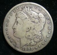 1903-S MORGAN SILVER $1 DOLLAR  BETTER DATE   SAN FRANCISCO MINT COIN