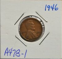 1946, 1948-D, 1949 UNITED STATES, LINCOLN WHEAT 1 CENT, US LOT OF 3, LOT A478