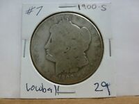 1900-S MORGAN SILVER DOLLAR 7