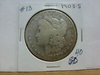 1903-S MORGAN SILVER DOLLAR 13