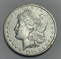 1884 MORGAN SILVER DOLLAR 90 BULLION