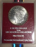 1891-S NGC MINT STATE 63 REDFIELD COLLECTION MORGAN SILVER DOLLAR