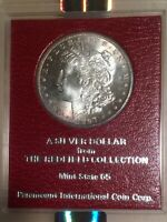1897-S NGC MINT STATE 64 REDFIELD COLLECTION MORGAN SILVER DOLLAR