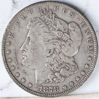 1878 7TF MORGAN DOLLAR VF REVERSE 1879