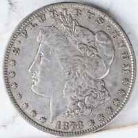 1878 7TF MORGAN DOLLAR EXTRA FINE   REVERSE 1878