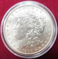 1898-O VAM10 MORGAN SILVER DOLLAR FROSTY BLAST WHITE LIQUIDATION
