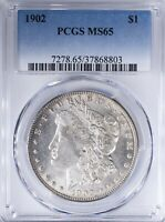 1902 MORGAN DOLLAR PCGS MINT STATE 65