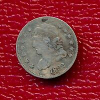 1832 CAPPED BUST SILVER HALF DIME LY CIRCULATED SHIPS FREE