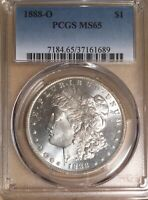 1888-O PCGS MINT STATE 65 MORGAN SILVER DOLLAR