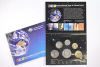 2008 ROYAL AUSTRALIAN MINT YEAR OF PLANET EARTH 6 COIN MINT