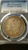 1894 O MORGAN SILVER DOLLAR VF PCGS