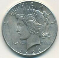 1926 PEACE SILVER DOLLAR-BEAUTIFUL UNCIRCULATED PEACE DOLLAR-SHIPS FREE INV:2