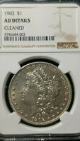 1902 MORGAN SILVER DOLLAR AUBRIGHT WHITE