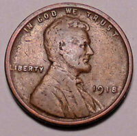 1918 P LINCOLN WHEAT CENT CENT - NOT STOCK PHOTOS -- SHIPS FREE