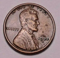 1923 S LINCOLN WHEAT CENT PENNY - NOT STOCK PHOTOS  - SHIPS FREE