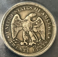 1875 S 20 CENT PIECE ANACS VG 8 TYPE COIN