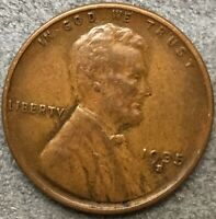 1935 S BETTER GRADE LINCOLN WHEAT CENT PENNY. A438 FREE SHIP