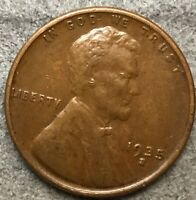 1935 S HIGHER GRADE VF/EXTRA FINE  LINCOLN WHEAT CENT PENNY. A444 FREE SHIP