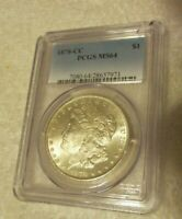 1878 CC  MORGAN PCGS MINT STATE 64