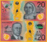 AUSTRALIA 20 DOLLARS P NEW 2019 UNC POLYMER BANKNOTE