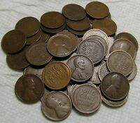 1 ROLL OF 1915 P PHILADELPHIA LINCOLN WHEAT CENTS FROM PENNY