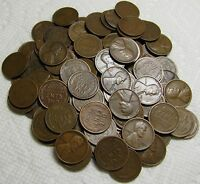 2 ROLLS OF 1928 D DENVER LINCOLN WHEAT CENTS FROM PENNY COLL