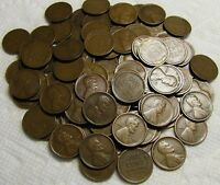 2 ROLLS OF 1917 S SAN FRANCISCO LINCOLN WHEAT CENTS FROM PEN