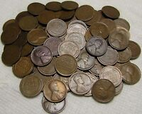 2 ROLLS OF 1914 P PHILADELPHIA LINCOLN WHEAT CENTS FROM PENN