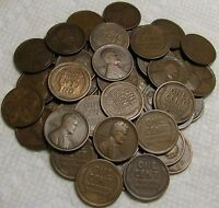 1 ROLL OF 1916 S SAN FRANCISCO LINCOLN WHEAT CENTS FROM PENN