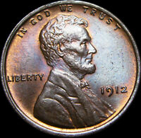 1912 LINCOLN CENT WHEAT CENT ---- GEM BU CONDITION ----  T014