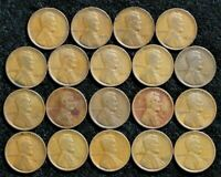 1909-1915 P AND 1916-1919 PDS LINCOLN CENTS  >> US PENNY COLLECTION <<