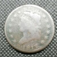 1812 CLASSIC HEAD LARGE CENT LARGE DATE | ABOUT GOOD DETAILS | TOUGHER DATE