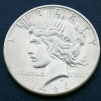 1926 S PEACE SILVER DOLLAR  VG DETAILS SEE SHIPPING SPECIAL BELOW