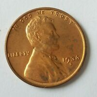 1936-S LINCOLN  UNCIRCULATED THIS EXACT COIN- FREE COMBINED SHIPPING