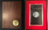 1971 - S UNITED STATES IKE EISENHOWER PROOF DOLLAR COIN IN COLLECTORS CASE